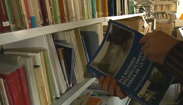 Biblioteca del Museu de Ciències Naturals de Granollers